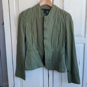 Marc Jacobs size 4 Sage Green Blazer/Jacket